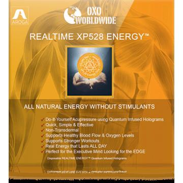Квантовые голограммы OXO World Wide Realtime XP528 ENERGY для энергии (10 шт)