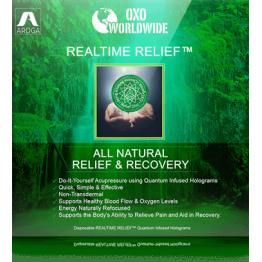 Квантовые голограммы OXO World Wide Realtime Relief от боли (42 шт)